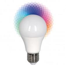 ΛΑΜΠΑ LED SMART BULB 6W Ε27 2700K+RGB