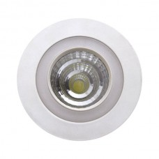 ΣΤΡΟΓΓΥΛΟ ΧΩΝΕΥΤΟ LED ΟΡΟΦΗΣ SMD & COB 6+6W - 3 ΔΙΑΦΟΡΕΤΙΚΑ ΑΝΑΜΜΑΤΑ 5254