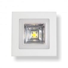 ΤΕΤΡΑΓΩΝΟ ΧΩΝΕΥΤΟ LED ΟΡΟΦΗΣ SMD & COB 3+3W - 3 ΔΙΑΦΟΡΕΤΙΚΑ ΑΝΑΜΜΑΤΑ 5255