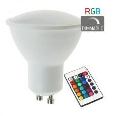 ΛΑΜΠΑ LED RGB 4.5W GU10