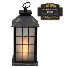 Διακοσμητικό LED φανάρι flame