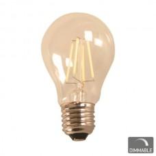 ΛΑΜΠΑ LED  FILAMENT A60 Ε27 7W 230V DIMMABLE 2200Κ
