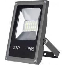 ΠΡΟΒΟΛΕΑΣ LED-SMD mini 12VDC 20W 6400K ΨΥΧΡΟ IP65